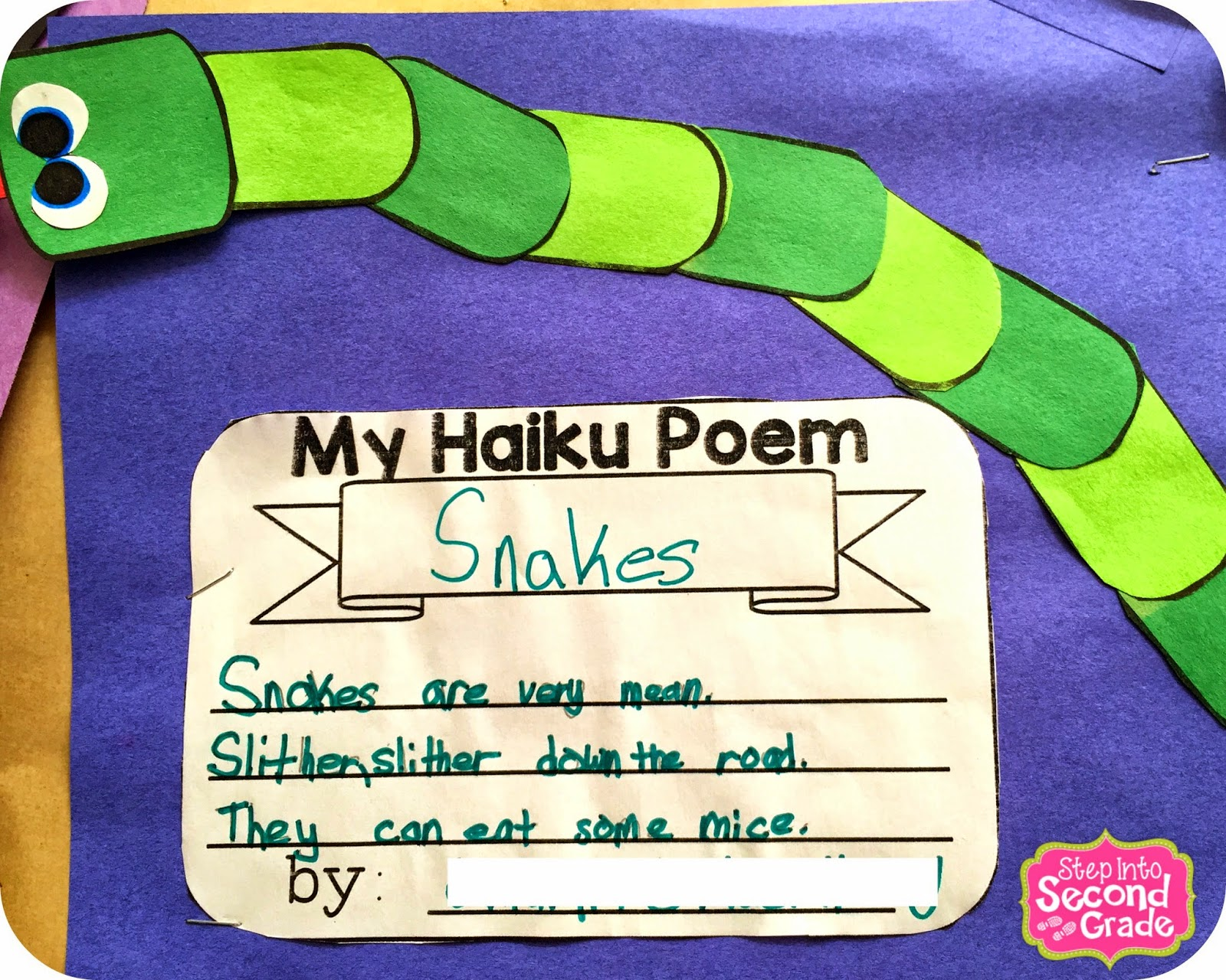 Step Into 2nd Grade With Mrs Lemons Poetry