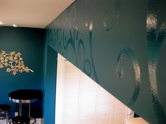 Tu Organizas.: Pintura de parede, discreta e charmosa