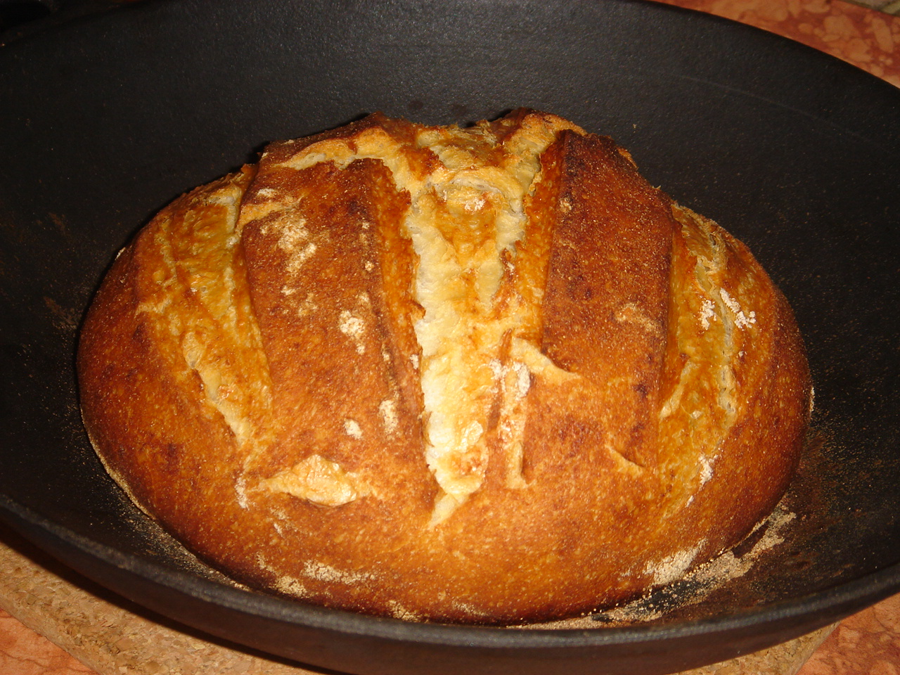 Nem vagyok mesterszakács: Békebeli kovászos fehér kenyér..