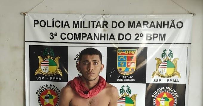 MARANHÃO - Vídeo mostra momento da prisão de assaltante em Duque Bacelar