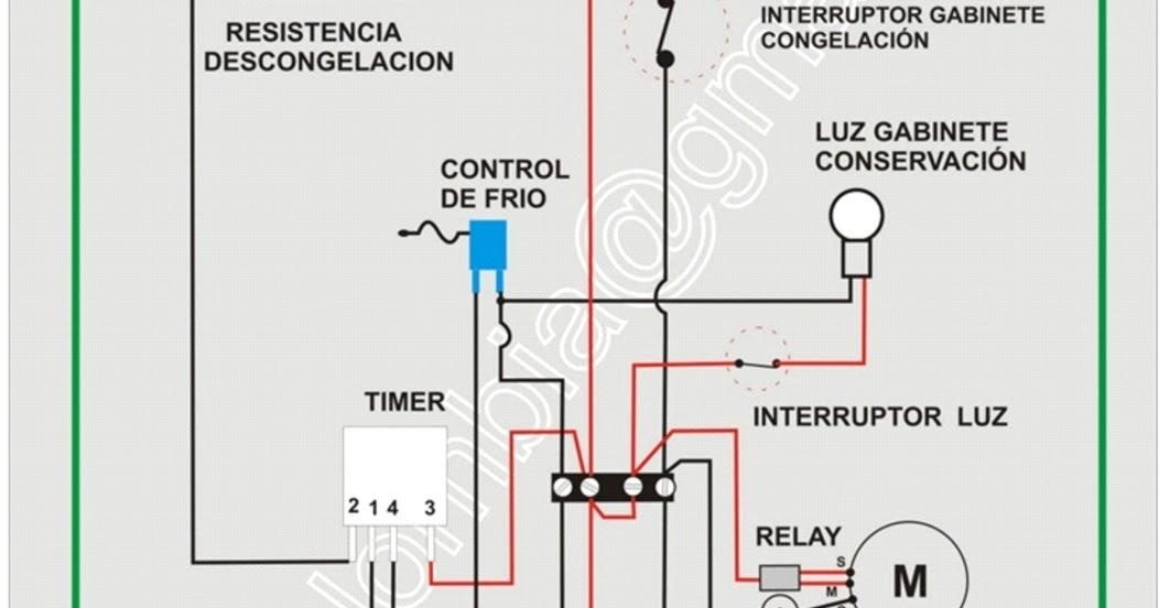 Circuito Electrico Heladera Comercial : Climax refrigeration daniels °b circuito elÉctrico de un