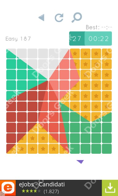 Cheats, Walkthrough for Blocks and Shapes Level 187