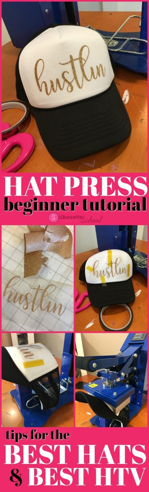 hat press, hat heat press, cap heat press, hat heat press machine, hat press machine, silhouette cameo