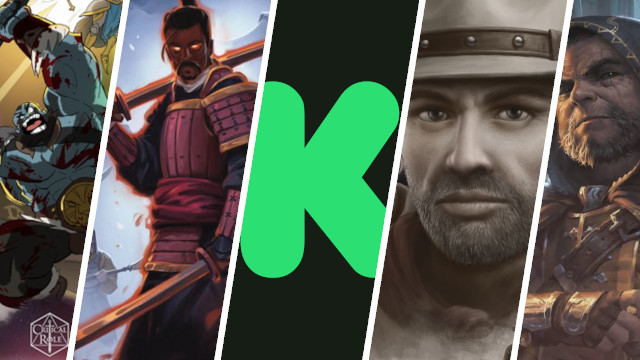 News Collider Board Games Kickstarter Suspends Kolossal Vox Machina Success Stronghold GAmes Sues Plan B 1 Billion New WoC Studion Heroes of Balders Gate