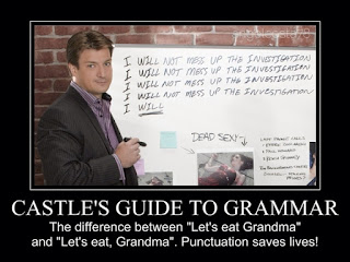 Guía de gramática de Richard Castle
