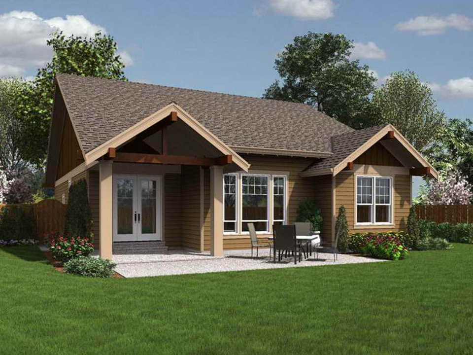 NEW SMALL BUNGALOW HOUSE DESIGNS