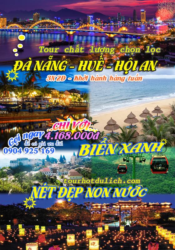 Tour du lịch Đà Nẵng Ngũ Hành Sơn cáp treo Bà Nà Hill đại nội Huế