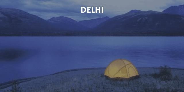 Trekking tents for rent in Delhi