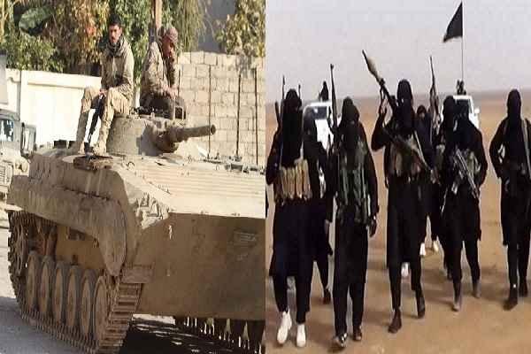 इराक के मोसुल में ISIS के 97 आतंकवादी ठोंके गए