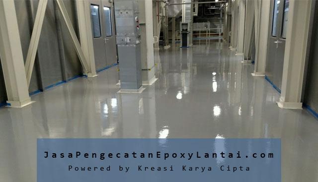 jasa pengecatan epoxy pabrik industri profesional
