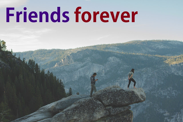 friends forever whatsapp dp of friends at hill