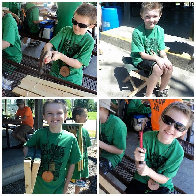 Kits Slides Boy Neckerchief Scout