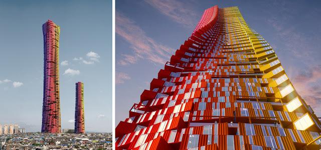 Небоскрёб из контейнера от студии CRG Architects