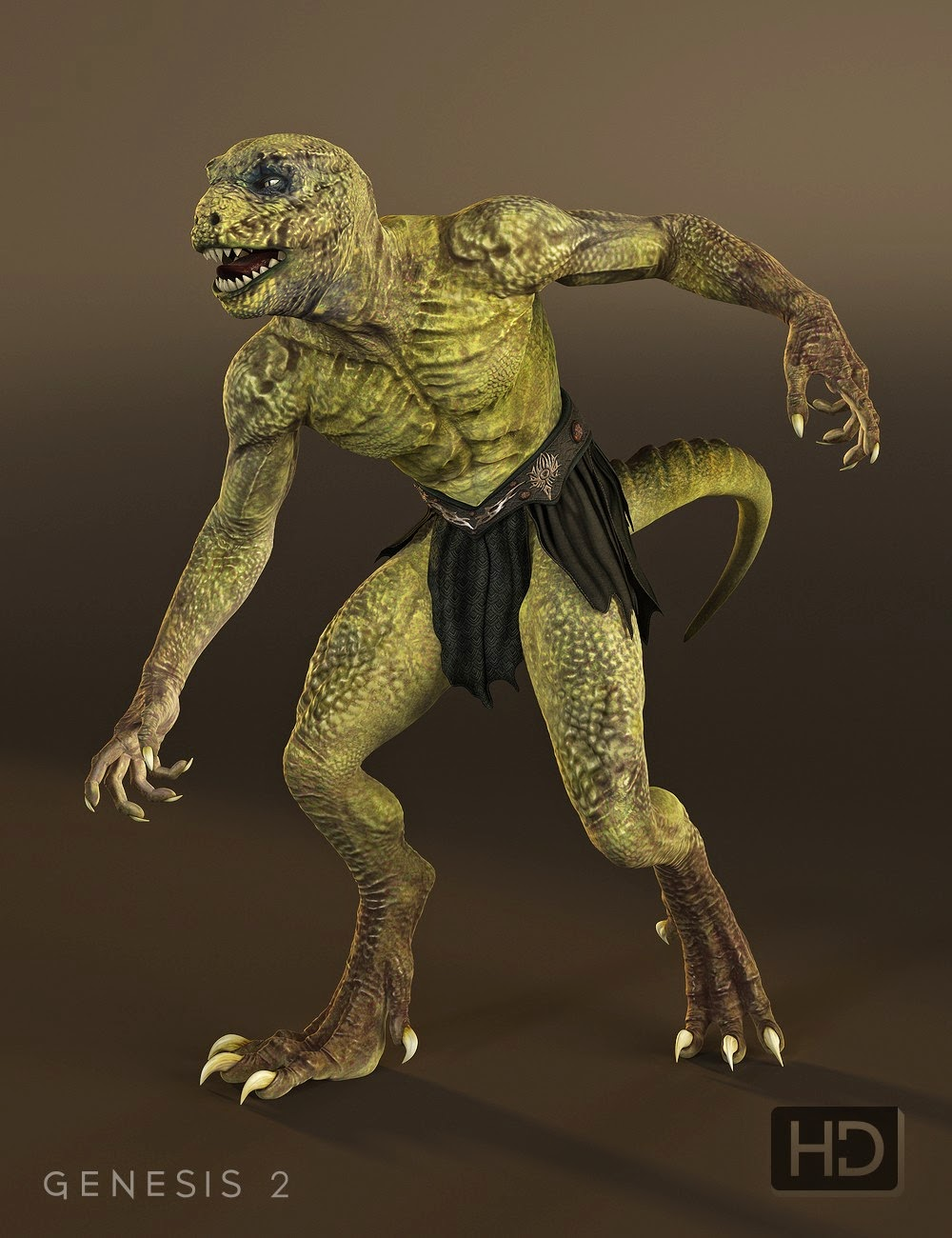 Genesis 2 daz3d male