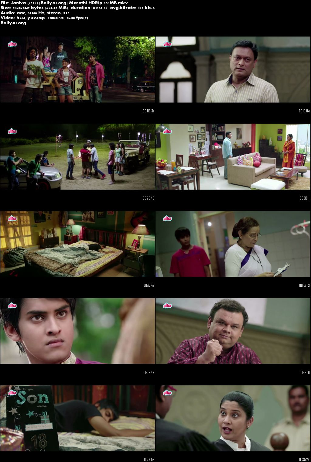 Janiva 2015 HDRip 300MB Marathi Movie 480p