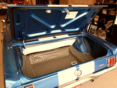 1966 Ford Mustang GT 350 Sport Convertible Baggage
