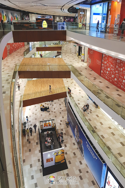 Interior view of MyTOWN Shopping Centre in Kuala Lumpur