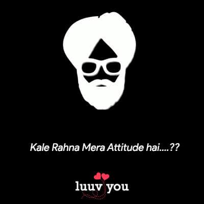 status for fb in punjabi attitude