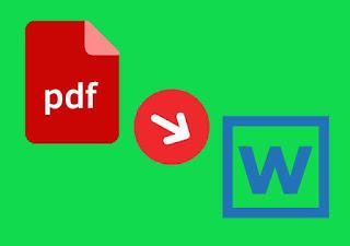 Cara paling Mudah Mengubah Word Ke PDF sekali klik