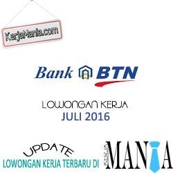 Lowongan Kerja Bank BTN Juli 2016