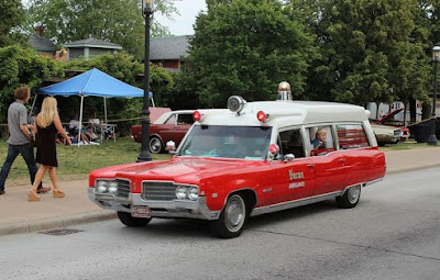 1969 Oldsmobile Ninety Eight Classic Ambulance