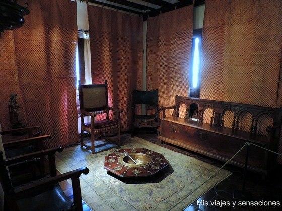 Sala de recibir, Casa Natal de Cervantes, Alcalá de Henares
