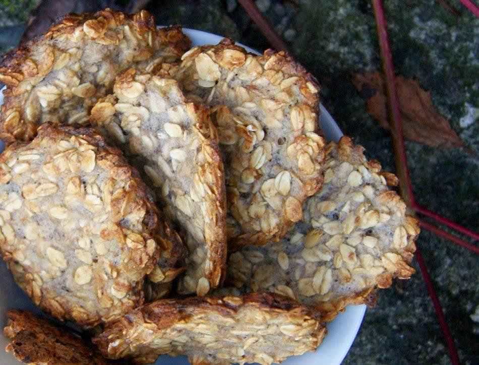 Ciasteczka owsiane z bananami