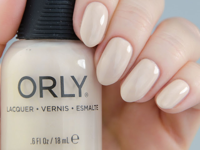 "Orly ""Faux Pearl"" swatch"