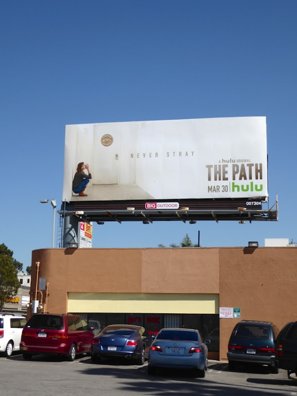The Path Never stray teaser billboard