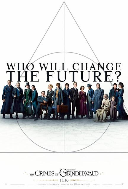Novo pôster com o elenco de 'Os Crimes de Grindelwald' é revelado | Ordem da Fênix Brasileira