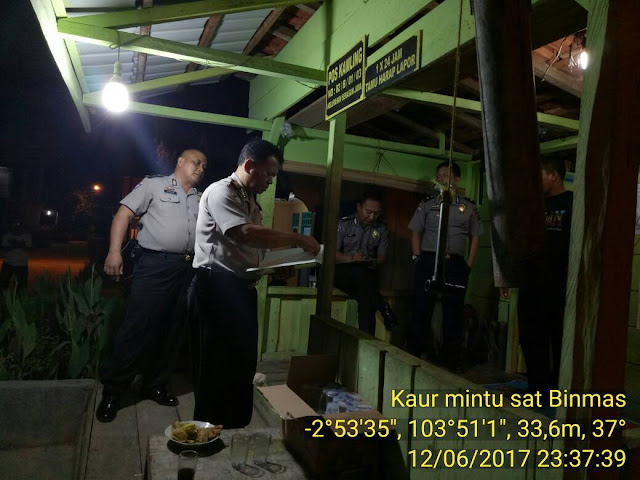 Poskamling Serasa Jaya Ikuti Lomba Tingkat Polda