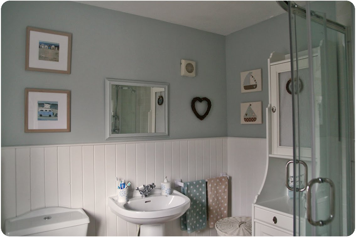 Countrykitty en suite reveal for Mobili shabby ikea
