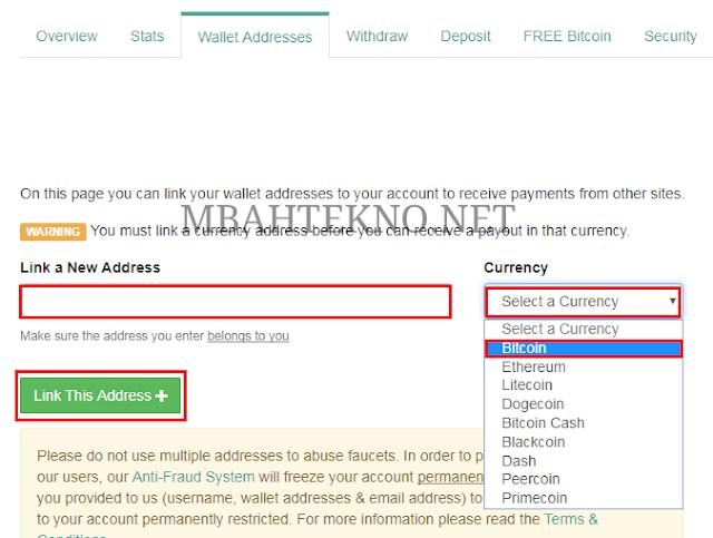 MbahTekno - Mining Bitcoin dengan Browser