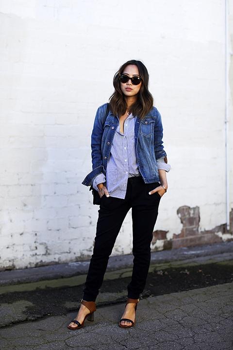 Джинсовые куртки женские: модные идеи 2017 года