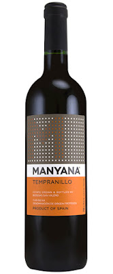A Bottle of Manyana Tempranillo Wine from Spain