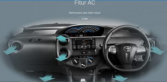Interior Toyota Etios Valco Tahun 2018