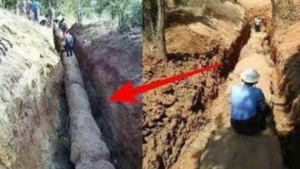 Penduduk Gempar! Temukan Benda Aneh Dalam Tanah. Rupa-Rupanya Ini Memang Mengejutkan