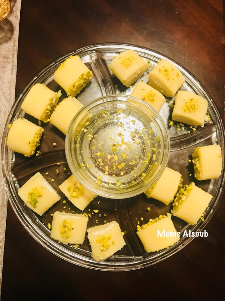 وصفة سهله لحلاوة الجبن