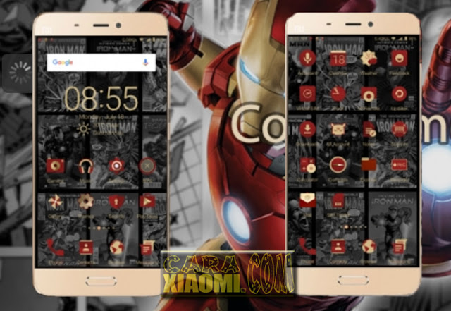 Tema MIUI Invisible Iron Man Mtz For Xiaomi Release New Version 1.0
