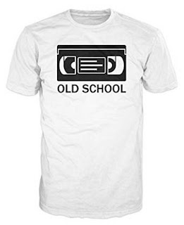 Old School VHS Cassette T-shirt for Men