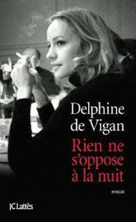 """Couverture de """"Rien ne s'oppose à la nuit"""", de Delphine de Vigan"""