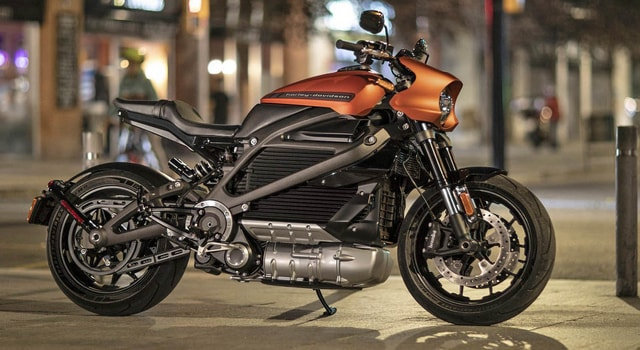 Harley Davidson LifeWire 2020 - a modern electric bike