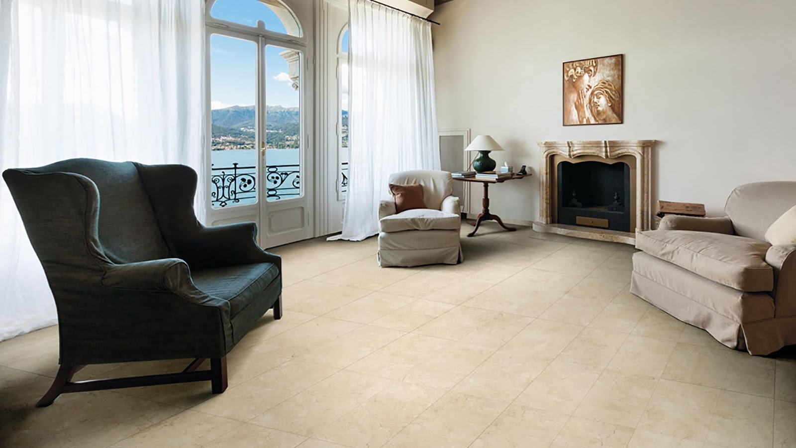 Marble finish tiles Fori Romani collection | Floor & Wall Tiles ...