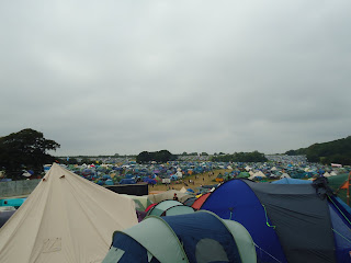 Sea of Tents at Camp Bestival