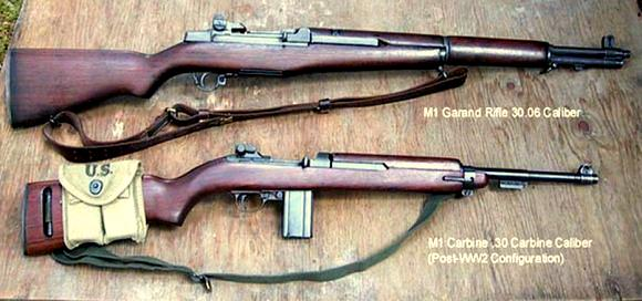 M1 Garand dan M1 Carbine