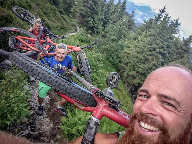 Wie trage ich mein Mountainbike richtig MTB