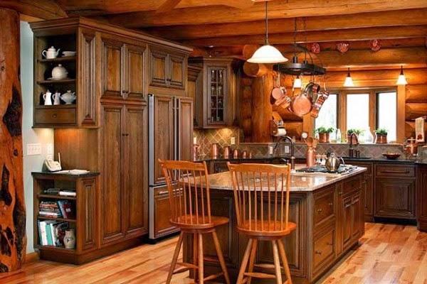 Fotos de cocinas estilo r stico colores en casa - Disenos de cocinas rusticas ...