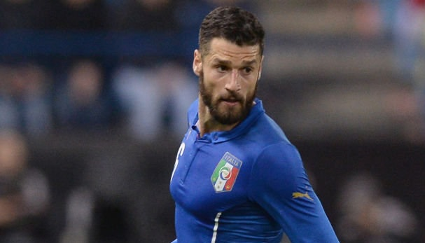 Antonio Candreva, the player of Albanian descent who plays for Italy