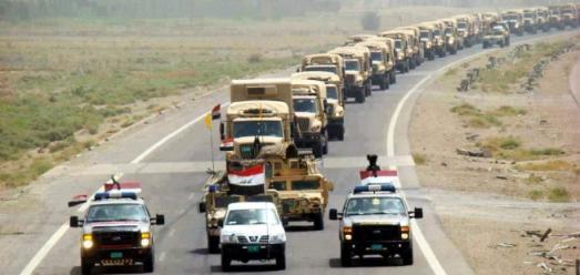 """""""رمضان الثانية"""" عملية عسكرية للجيش العراقي غرب الانبار."""