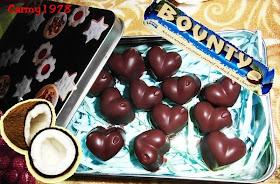 ricetta cioccolatini bounty